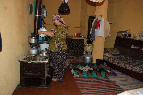 Un bel intérieur traditionnel turc