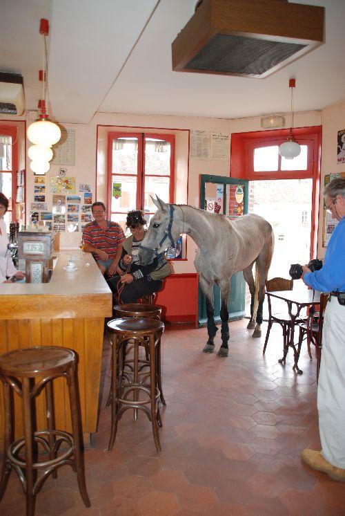Pause de midi à Flagy: Almila au bistrot