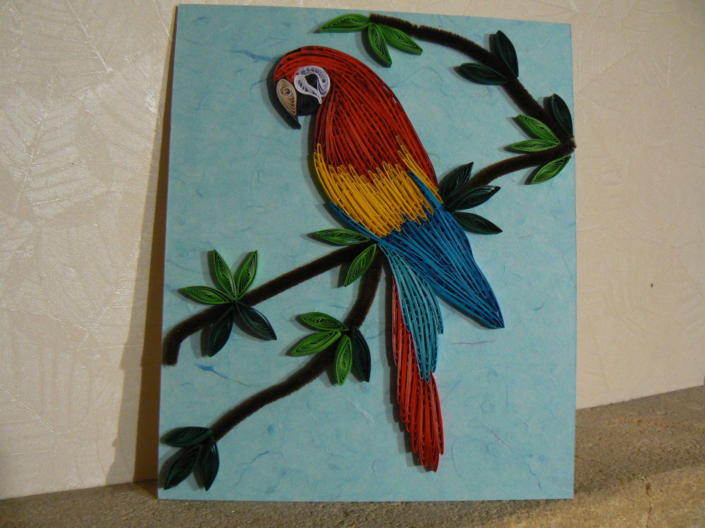 Quilling ou paperolle suzepassion for Big quilling designs