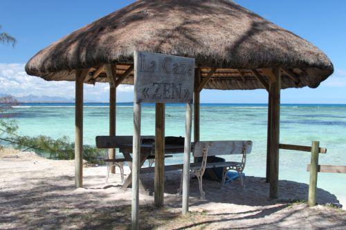case zen sur l'îlot Gabriel