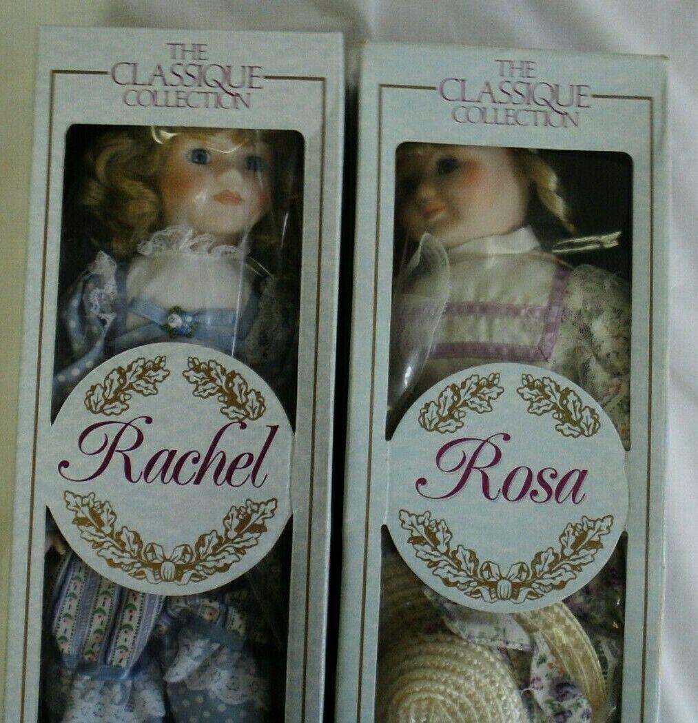 Rachel en boite  a coté de Rosa vue sur le net