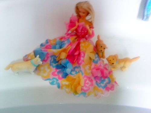 Barbie  Fleurs