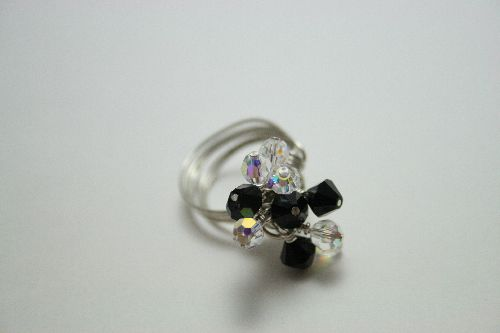 Bagues Swarosvski Wire Wrapping