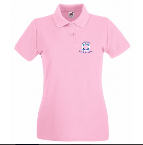 polo rose amicale port ariane lattes wearcraft.png