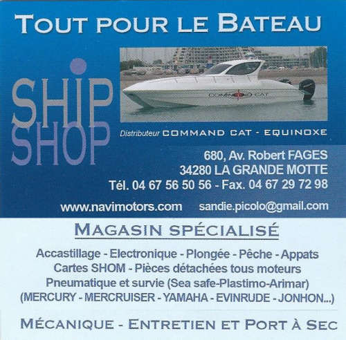 Ship Shop, La Grande Motte