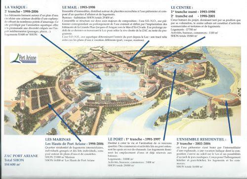 Projet Port Ariane par la SEMP3 (1990)