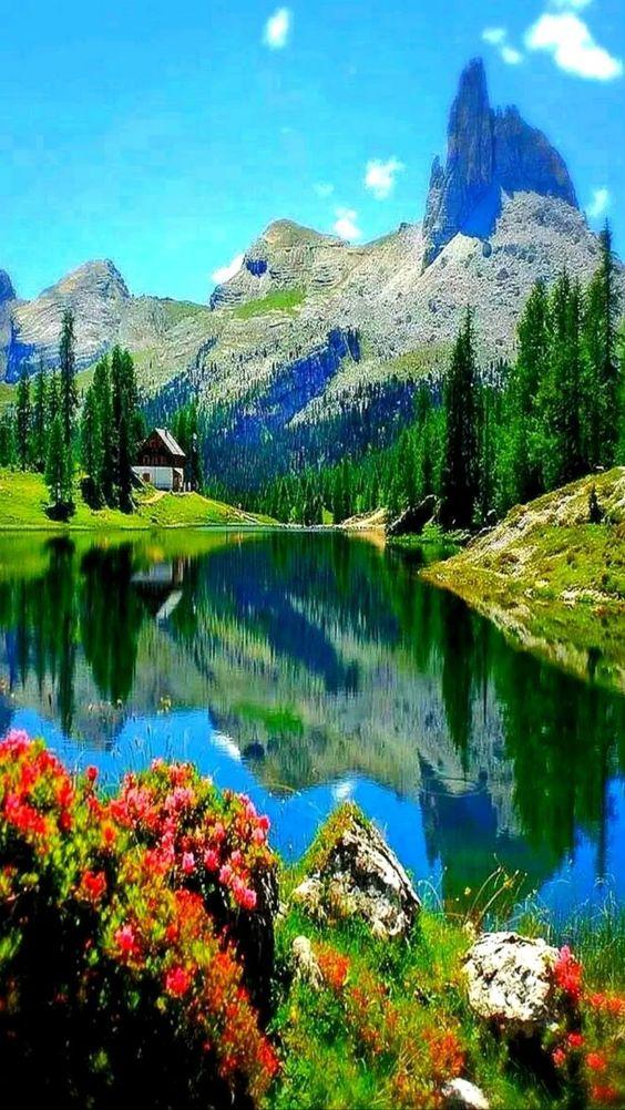 Beau paysage.