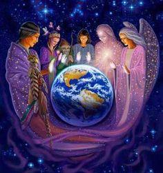 Les êtres de Lumière protègent la Terre.