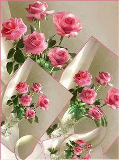 Plein de rose pour enchanter votre vie.