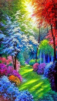 Belles couleurs.