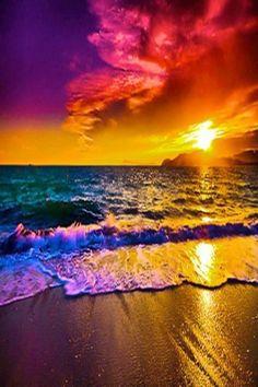 Méditation devant un lever de soleil