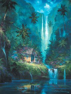Les cascades font vibrer notre âme.