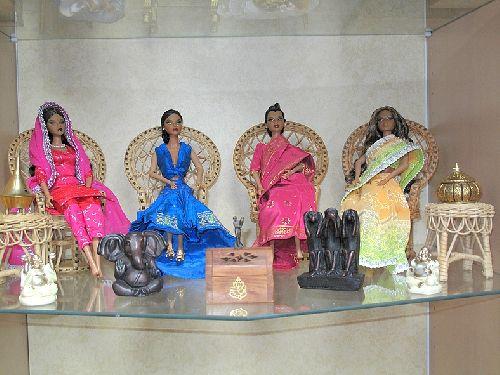 Réaménagement du diorama hindou