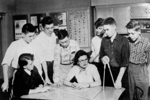 Ted Kaczynski Unabomber est le 3ème en partant de la droite.