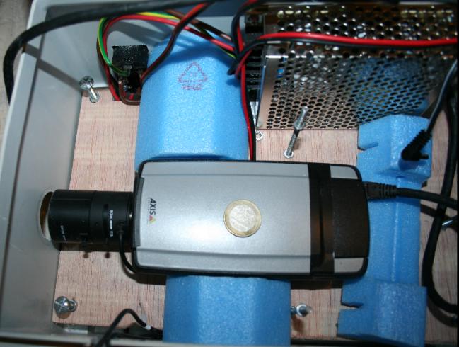 Le caméra du dispositif de vidéosurveillance de la DGSI découvert par Discordia