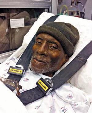 Herman Wallace le jour de sa libération pour raisons médicales The Angola Three