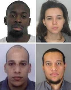 Amedy Coulibaly, sa compagne et la fraterie Kouachi - Attentats contre Charlie Hebdo et l'Hyper Casher de la Porte de Vincennes, 7-9 janvier 2015