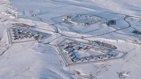 vue aérienne de la prion Supermax de Florence (cnn)
