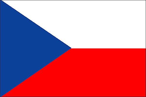 Le drapeau de la République tchèque