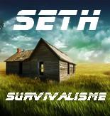 seth survivalisme logo de l'entreprise du couple Claude Hermant & Aurore Joly (Attentats contre Charlie Hebdo)
