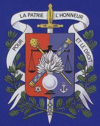 Blason complet de la gendarmerie avec sa devise