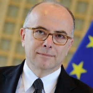 Bernard Cazeneuve, ministre de l'intérieur français en 2015-2016