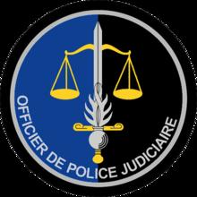 Ecusson des OPJ de la Gendarmerie française
