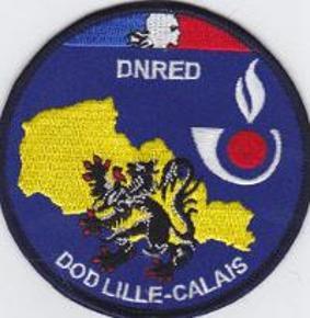 Ecusson DNRED DOD LILLE CALAIS