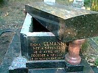 photo de la tombe d'Emma Ulmann