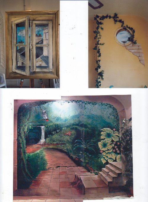 995 fresque murale
