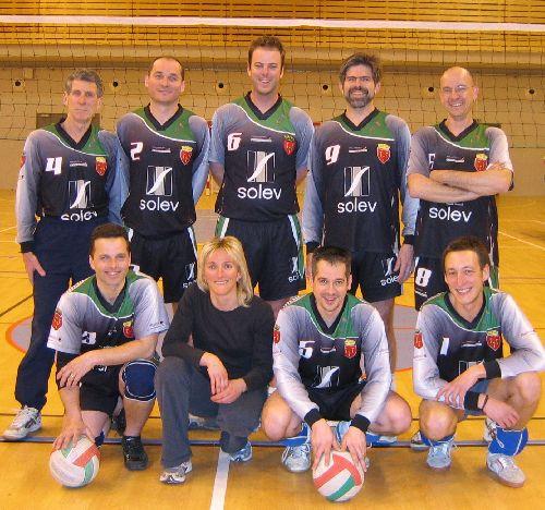 Equipe A de Martel Volley-Club
