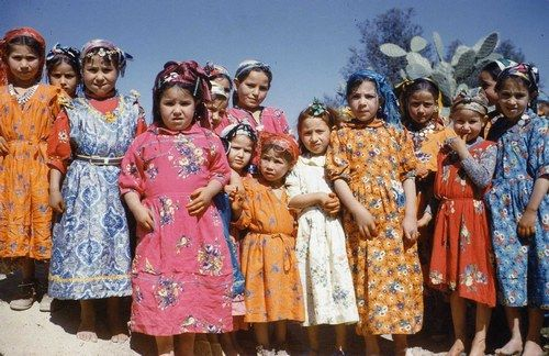 Fillettes d\'Amagaz 1960 par azziz Boussaid