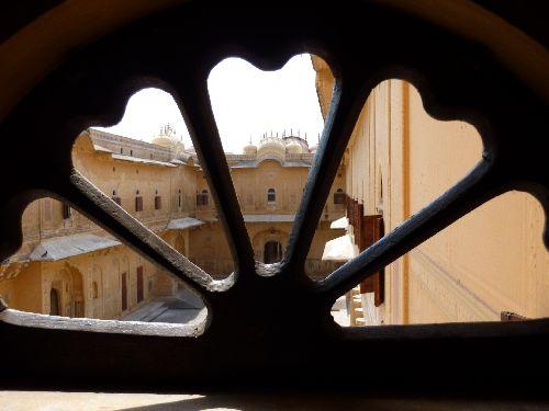 Fenêtre temple des lions