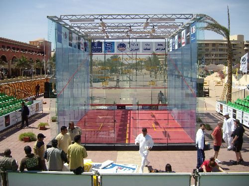Hurghada 2009 Court vitré