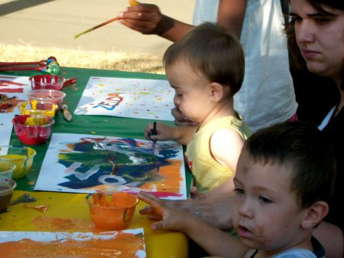 Atelier : Les mots à peindre / Peindre les mots