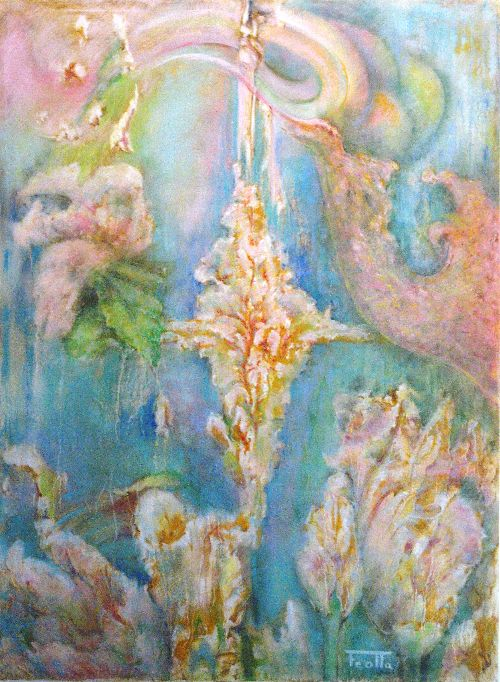Flore Essence - pastel 79x59 cm