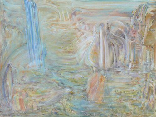 Continuum - Pastel sur toile - 60x80 cm