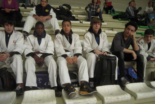 Les cadets du KCC au tournoi de Bondy