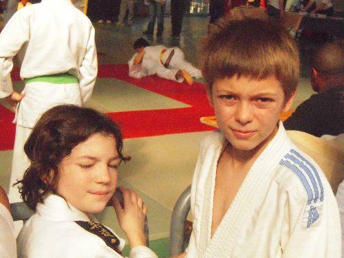 Matthieu et Léa 2 copains du KCC