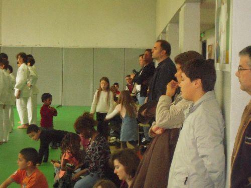 Les parents venus nombreux assister à cette compétition interne du KCC