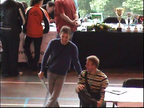 Mais aussi chez les entraineurs : Yann ( KCC ) et Wilhelm ( ACBB )