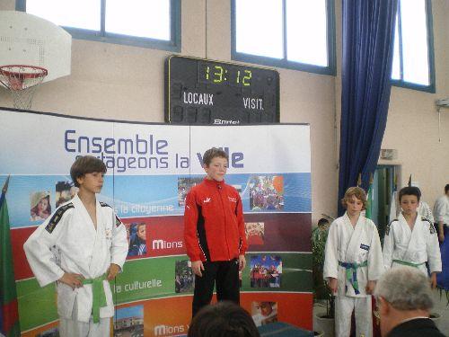 Antoine est radieux : Monsieur Hédi termine lui aussi 2eme ( pas de photos )