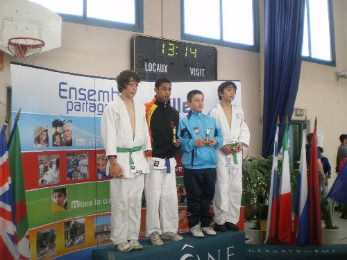 EXPLOIT ! Mohamed gagne le tournoi international de Mions