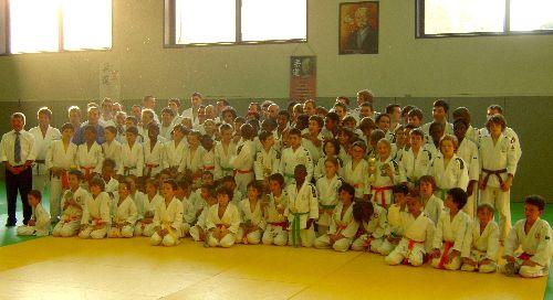 Une petite partie de la grande famille des judokas du KCC