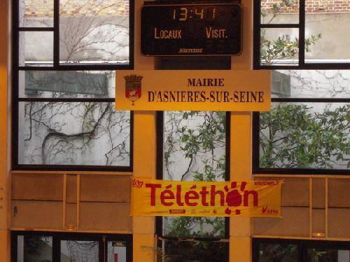 A l'occasion du Téléthon Asnieres organise une compétition par équipe et en individuel filles