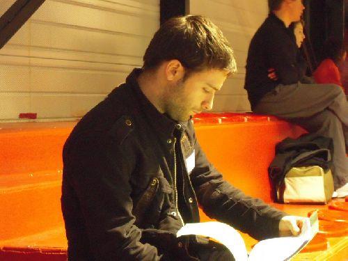 Romain Thomas prof du KCC accompagnait les benjamins en compet pour la premiere fois. Il n'a pas été déçu.