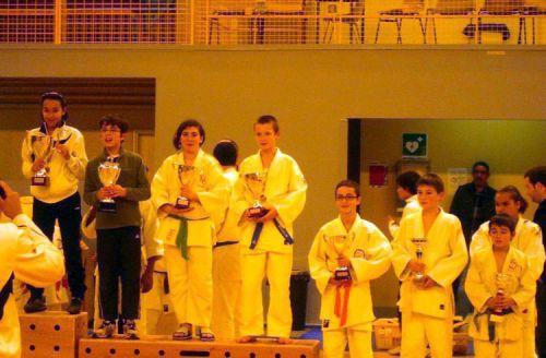 Le KCC termine 3eme du challenge de ce tournoi de Pontault Combault. Quand on sait que les Benjamins n'ont pas participé...  C'est fort !