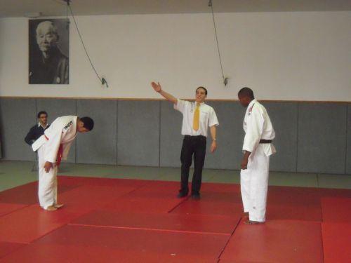 Le Roi Mohamed victorieux de ce tournoi de Garches sous le portrait De Jigoro Kano: Tout un symbole ! Respect Champion !