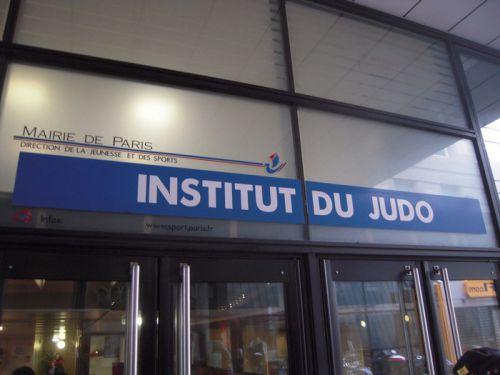 Stage de 2 jours et demi à l'Institut du Judo 21-25 avenue de la porte de Châtillon