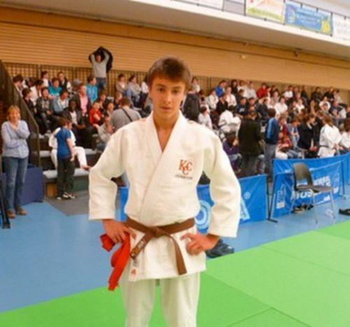 Antoine réussit l'exploit de devenir Champion de France UGSEL à Thionville